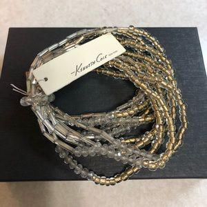 Kenneth Cole multi strand bracelet